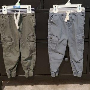 Set of Boys 3T cat & Jack Jogger Pants